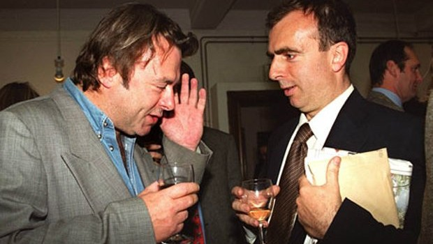 Christopher and Peter Hitchens